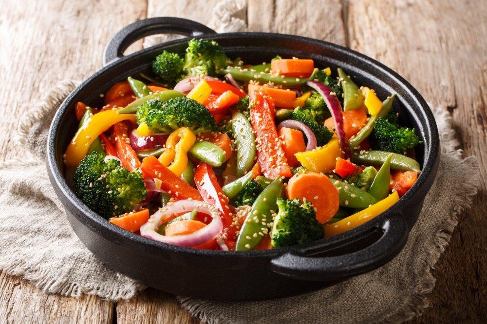 Sauté de légumes – Les Délices Thaî